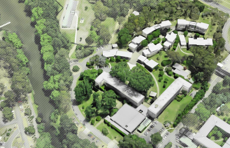 Burgmann College Campus Map